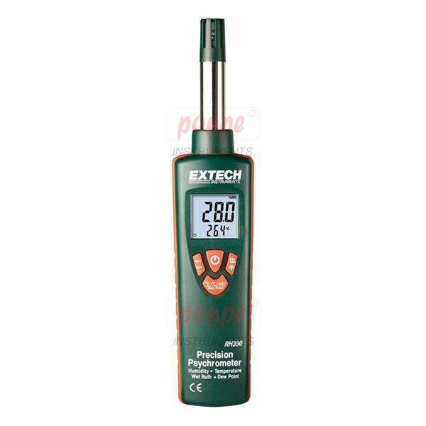 Precision Psychrometer Thermometer RH390