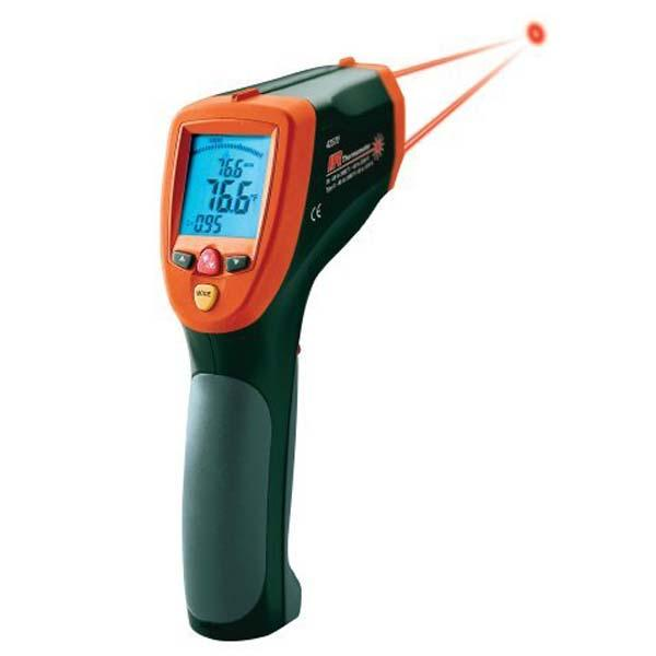 42570: Dual Laser InfraRed Thermometer Wide Range IR 2,200C