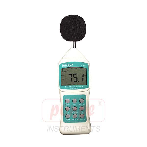 เครื่องวัดระดับความดังเสียง Sound Level Meter Extech 407750