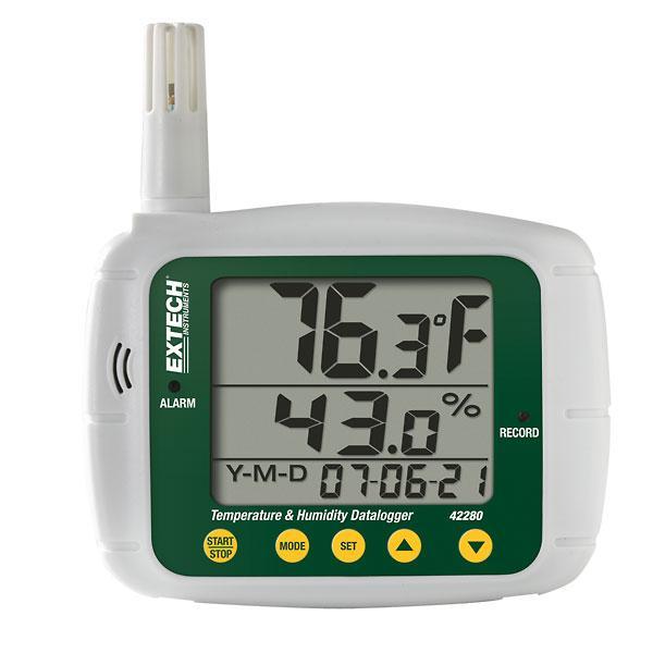 42280 Temperature/Humidity Datalogger Kit with USB interface