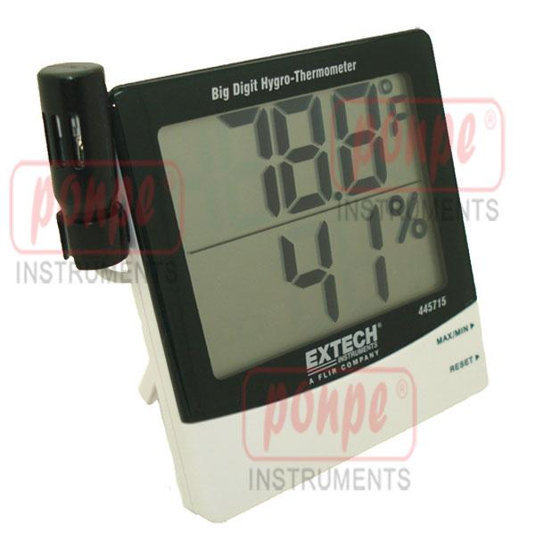 445715 Extech เครื่องวัดอุณหภูมิ ความชื้น Humidity Alert with Remote Probe