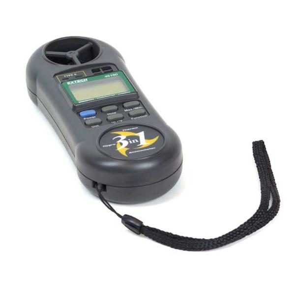 45160 EXTECH 3-in-1 Humidity, Temperature and Anemometer
