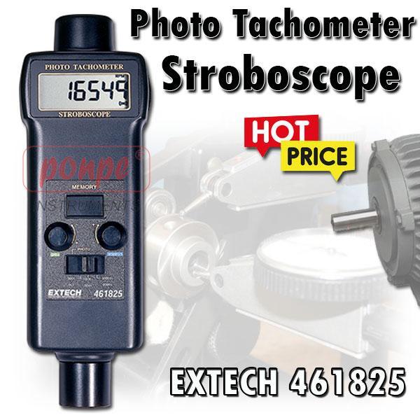 461825 EXTECH เครื่องวัดความเร็วรอบ Tachometer