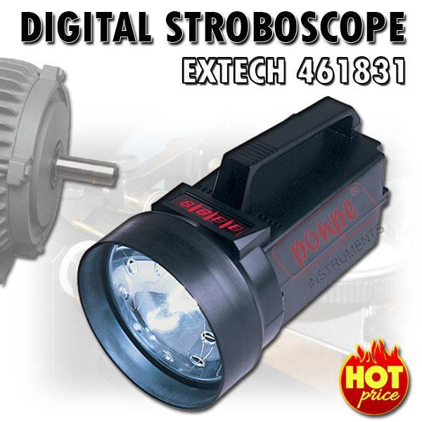 461831 EXTECH เครื่องวัดความเร็วรอบ Digital Stroboscope