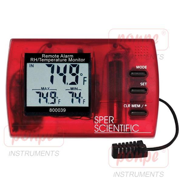 800039 Sper Scientific เครื่องวัดอุณหภูมิ ความชื้น