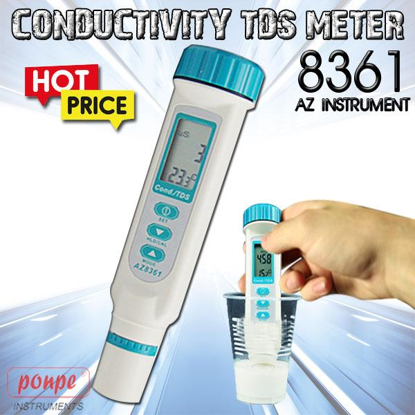 8361 AZ INSTRUMENT Conductivity TDS Meter