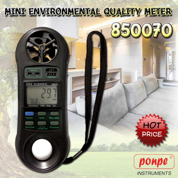 4 in1 Humidity,Temperature Light and Anemometer 850070