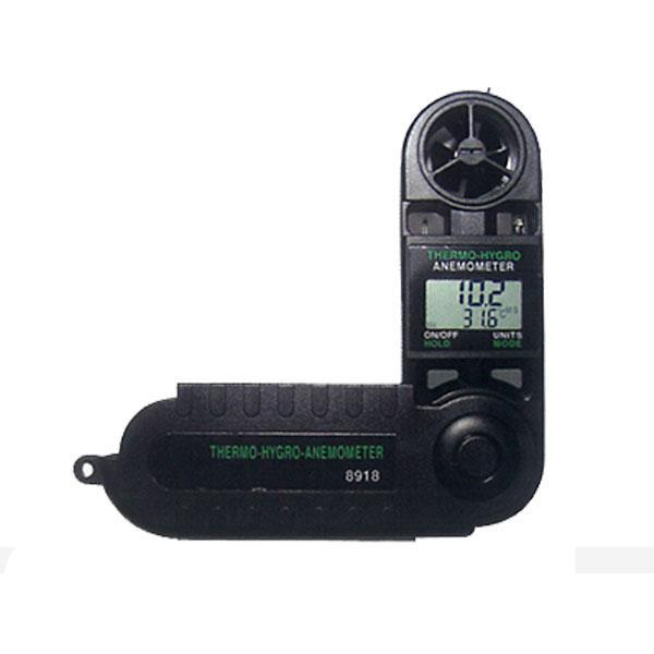 เครื่องวัดความเร็วลม อุณหภูมิ ความชื้น Thermo-Anemometer 8918