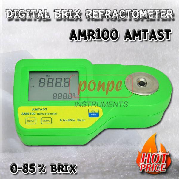 AMR100 / AMTAST เครื่องวัดความหวาน Digital Brix Refractometer