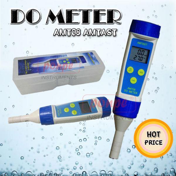 AMT08 / AMTAST เครื่องวัดออกซิเจนในน้ำ DO Meter ราคาถูก
