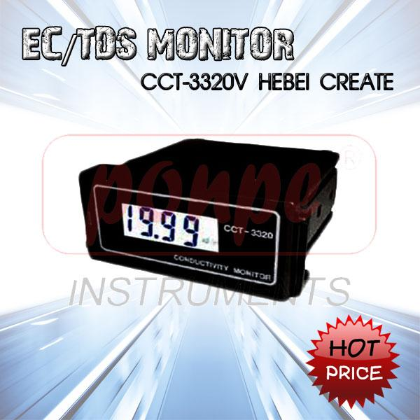 CCT-3320V HEBEI CREATE / EC/TDS Monitor with probe 5m