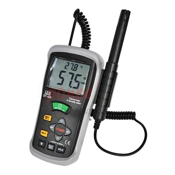 Thermo-Hygrometer เครื่องวัดอุณหภูมิ ความชื้น DT-625