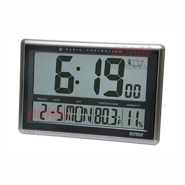 Radio-Controlled Wall Clock Hygro-Thermometer CTH10