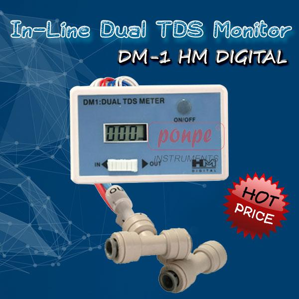 DM-1 HM Digital In-Line Dual TDS Monitor