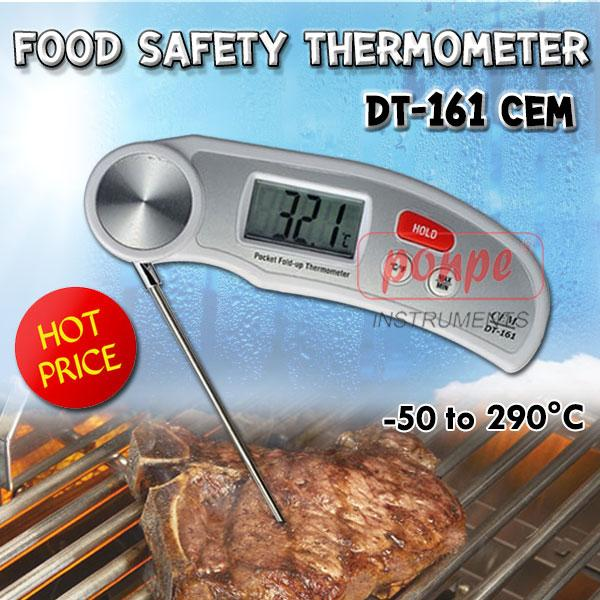 Waterproof Folding Thermometer DT-161