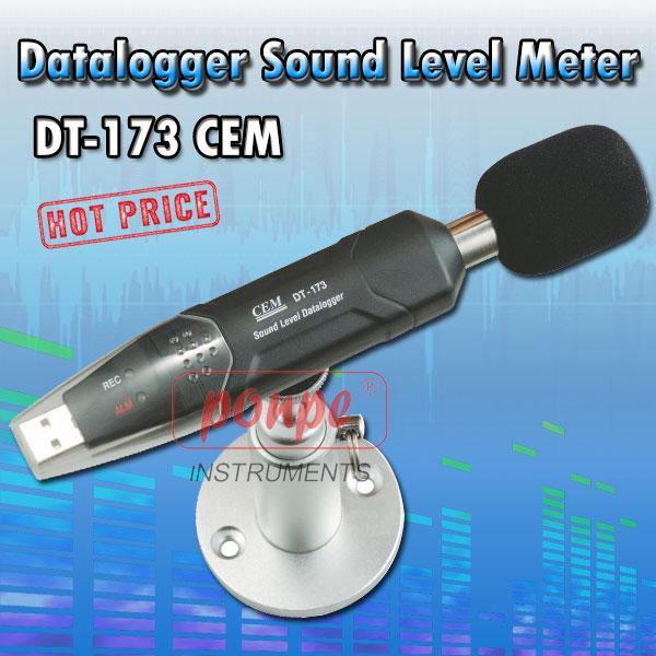 DT-173 / CEM เครื่องบันทึกความดังเสียง Datalogger Sound Level Meter