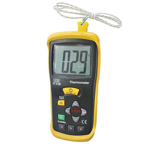 เครื่องวัดอุณหภูมิ เทอร์โมมิเตอร์ รุ่น DT-610B