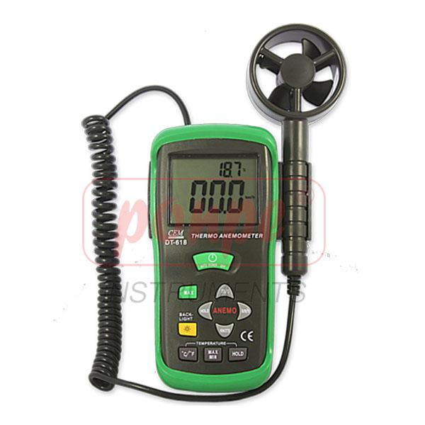 DT-618 Thermo-Anemometer