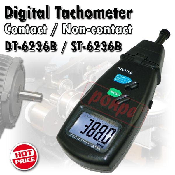 DT-6236B / ST-6236B CEM เครื่องวัดความเร็วรอบ Tachometer