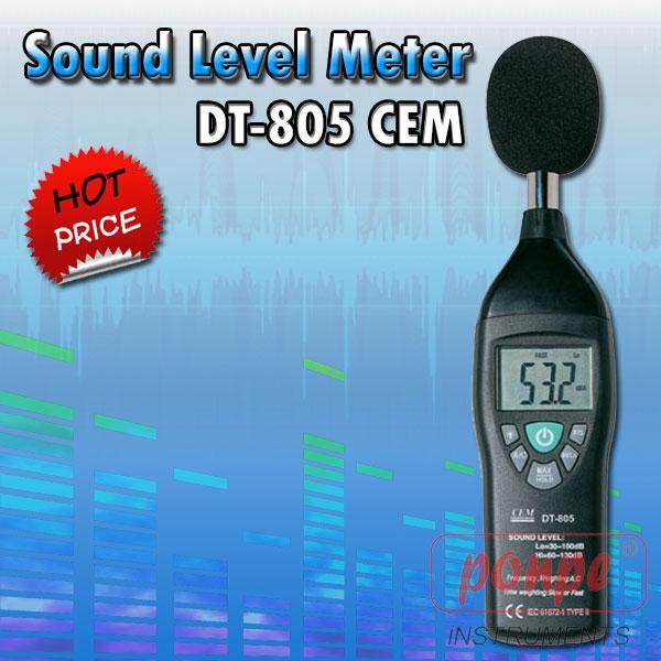 DT-805 / CEM เครื่องวัดเสียง Sound Level Meter