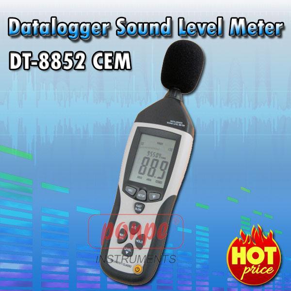 DT-8852 / CEM เครื่องวัดเสียง Datalogger Sound Level Meter