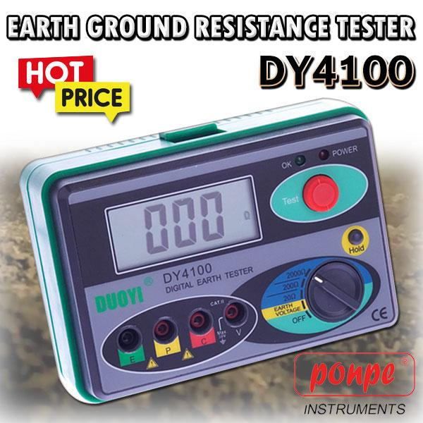 Digital Earth Ground Resistance Tester DY4100