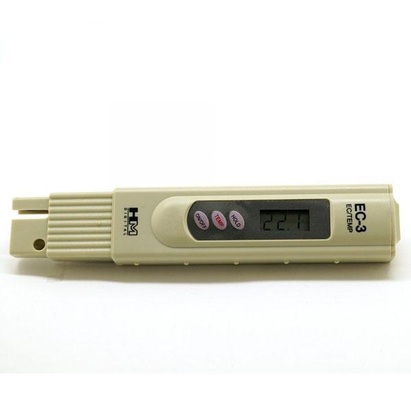 EC-3 HM Digital เครื่องวัดความนำไฟฟ้า EC Meter
