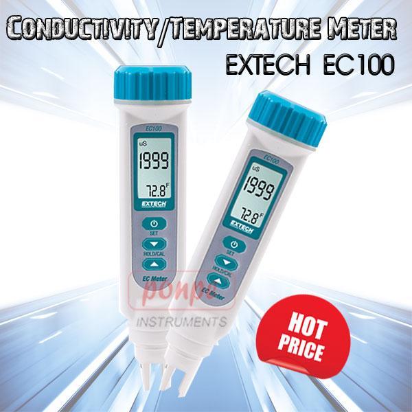 Conductivity/Temperature Meter เครื่องวัดความนำไฟฟ้า EC100