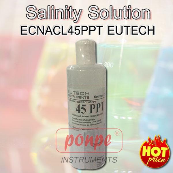 ECNACL45PPT  EUTECH น้ำยามาตรฐาน ความเค็ม Salinity Solution