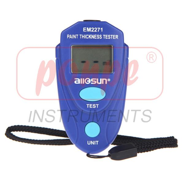Digital LCD Coating Thickness Gauge EM2271