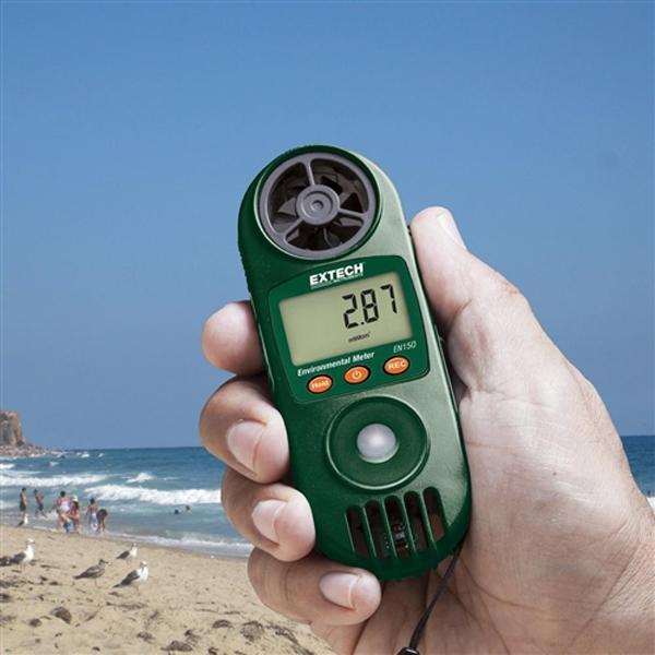 EN150 EXTECH Hygro-Thermo-Anemometer with UV Light Sensor