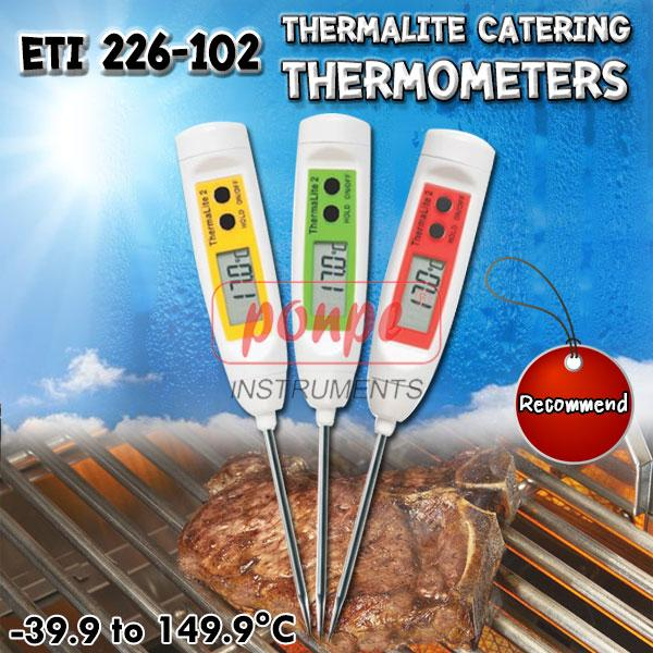 ETI 226-102 เครื่องวัดอุณหภูมิ ThermaLite catering thermometers