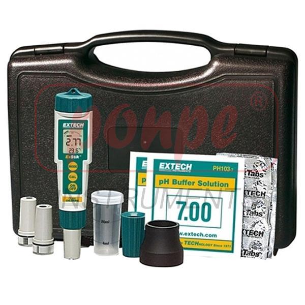 EX800 EXTECH เครื่องวัด pH เครื่องวัดคลอรีน ExStik 3-in-1 Chlorine, pH,Temp