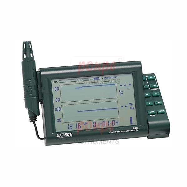 RH520A  Humidity+Temperature Chart Recorder