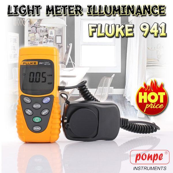 Fluke 941 เครื่องวัดแสง Light Meter Illuminance