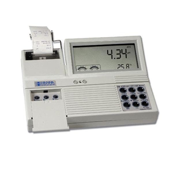 pH/ORP/Temperature Meter with Built-in Printer HI122