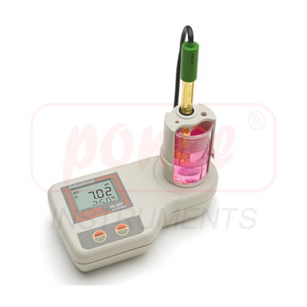 เครื่องวัดกรดด่าง All in one pH Meter for Education HI207