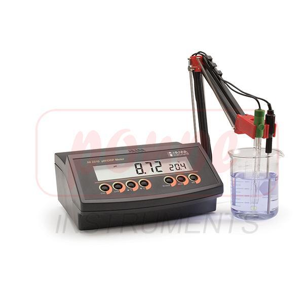HI2210-02 HANNA Bench Top pH Meter