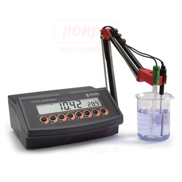 pH/ORP Benchtop Meter with Three Point Calibration HI2213