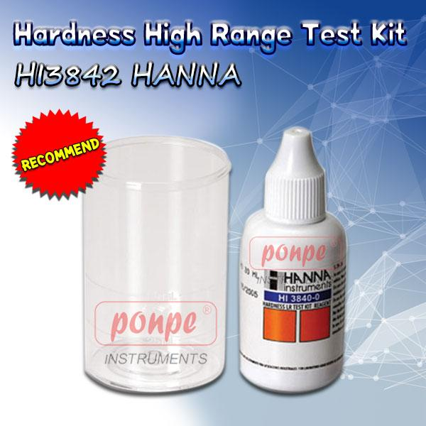HI3842 Hardness High Range Test Kit