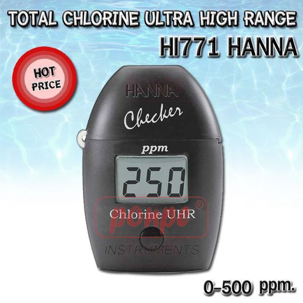 HI771 Total Chlorine Ultra High Range