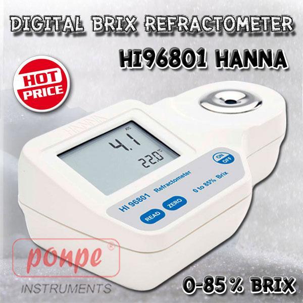 Refractometer เครื่องวัดค่าความหวาน HI96801