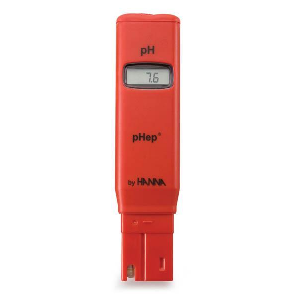 เครี่องวัดกรดด่าง pH Meter HANNA รุ่น HI98107