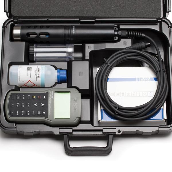 HI98195 HANNA เครื่องวัด pH/ORP/EC/Pressure/Temperature