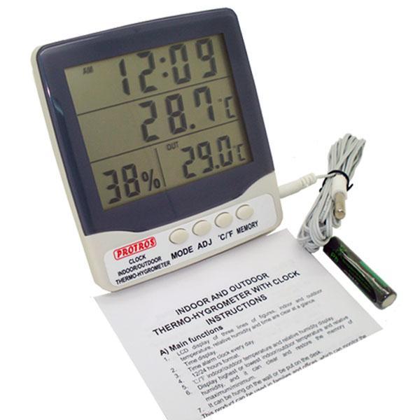 Thermo-Hygrometer เครื่องวัดอุณหภูมิ 2 จุด และความชื้น รุ่น HY-303C
