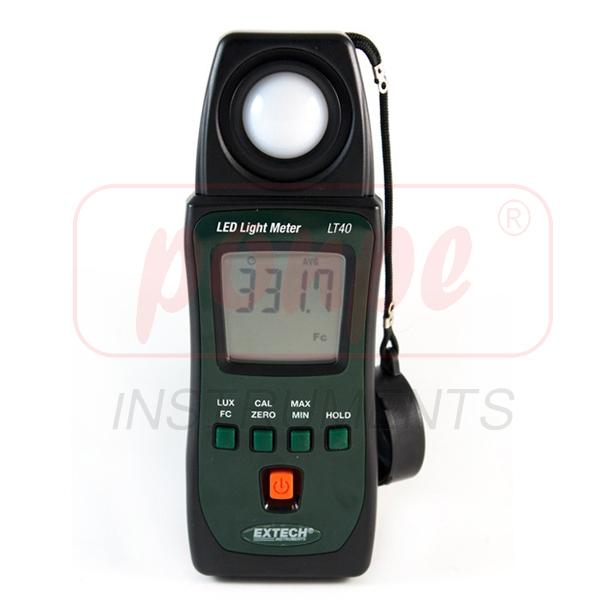 LED Light Meter เครื่องวัดแสง LT40
