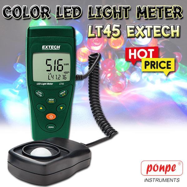 Color LED Light Meter เครื่องวัดแสง LT45