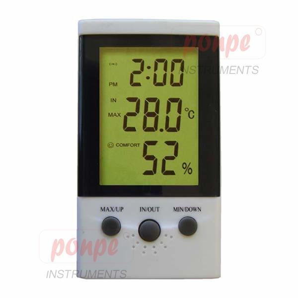 เครื่องวัดอุณหภูมิและความชื้นสัมพัทธ์ DT-2