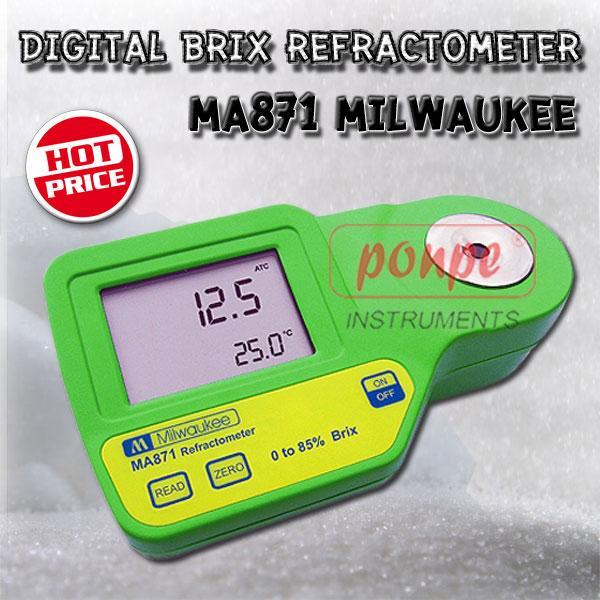 MA871 Milwaukee เครื่องวัดความหวาน Digital Brix Refractometer