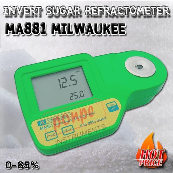 MA881 Milwaukee เครื่องวัดค่าความหวาน Invert Sugar Refractometer